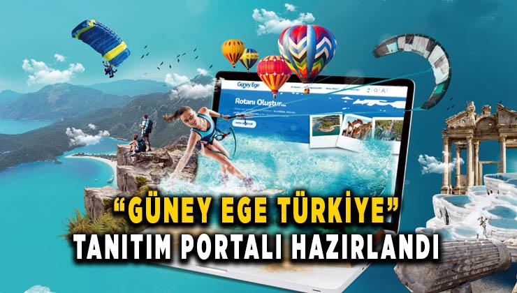 'Güney Ege Türkiye' tanıtım portalı hazırlandı
